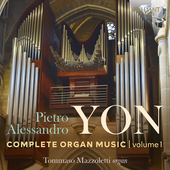 Album artwork for Yon: Complete Organ Music