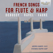 Album artwork for French Songs for Flute & Harp: Debussy