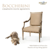 Album artwork for Boccherini: Complete Flute Quintets