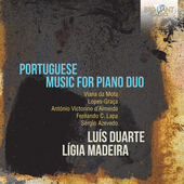 Album artwork for PORTUGUESE MUSIC FOR PIANO DUO