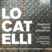 Album artwork for COMPLETE VIOLIN CONCERTOS