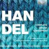Album artwork for COMPLETE ORGAN CONCERTOS