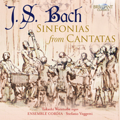 Album artwork for SINFONIAS FROM CANTATAS