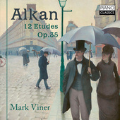 Album artwork for Alkan: 12 Etudes, Op. 35