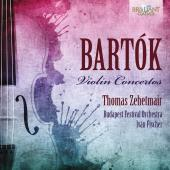Album artwork for Bartok: Violin Concerti 1, 2 / Zehetmair
