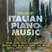 Album artwork for 20th Century Italian Piano Music, Vol. 1