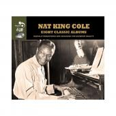 Album artwork for Nat King Cole: Eight Classic Albums (4CD)