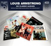 Album artwork for Louis Armstrong - Six Classic Albums