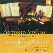 Album artwork for VIRTUOSO RECORDER CONCERTOS