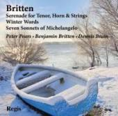 Album artwork for BRITTEN: SONG CYCLES