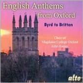 Album artwork for English Anthems from Oxford: Byrd to Britten