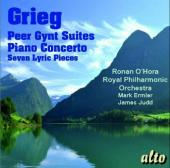 Album artwork for Greig: Peer Gynt Suites; Piano Concerto