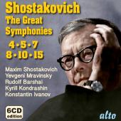Album artwork for SHOSTAKOVICH: The Great Symphonies