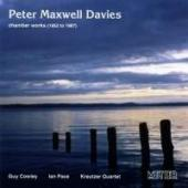 Album artwork for Peter Maxwell Davies - Chamber Works 1952 to 1987