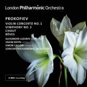 Album artwork for Prokofiev: Violin Concerto No. 1, Symphony No. 3,