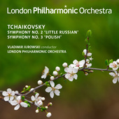 Album artwork for Tchaikovsky: Symphonies Nos. 2 & 3 (Live)