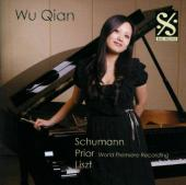 Album artwork for WU QIAN - Schumann, Prior, Liszt
