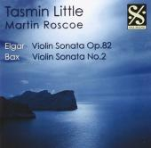 Album artwork for Tasmin Little : Violin Sonatas by Elgar and Bax
