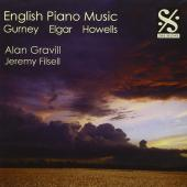 Album artwork for English Piano Music, Gurney, Elgar and Howells