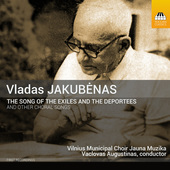Album artwork for Jakubenas: The Song of the Exiles and the Deportee