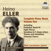 Album artwork for Eller: Complete Piano Music V2