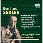 Album artwork for Bernard Sekles: CHAMBER MUSIC