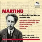 Album artwork for Martinu: Early Orchestral Works Vol. 1 / Hobson