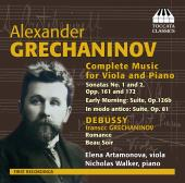 Album artwork for Alexander Grechaninov: Complete Music for Viola an