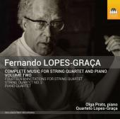 Album artwork for Lopes-Graça: Music for String Quartet & Piano Vol
