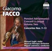 Album artwork for Facco: Concertos Nos. 7-12