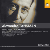 Album artwork for Tansman: Piano Music, Vol. 2