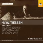 Album artwork for Tiessen: Piano Music
