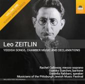 Album artwork for LEO ZEITLIN: YIDDISH SONGS