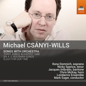 Album artwork for Csányi-Wills: Songs with Orchestra