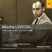 Album artwork for Levitzki: Complete Works for Solo Piano