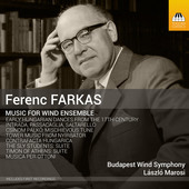 Album artwork for Farkas: Music for Wind Ensemble