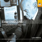 Album artwork for Englund: Complete Music for Solo Piano