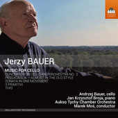Album artwork for Jerzy Bauer: Music for Cello