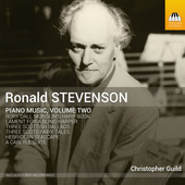 Album artwork for Stevenson: Piano Music, Vol. 2