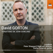 Album artwork for Gorton: Variations on John Downland