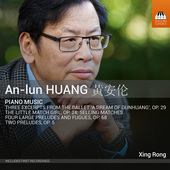Album artwork for An-lun Huang: Piano Music