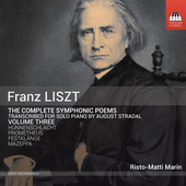 Album artwork for Liszt: The Complete Symphonic Poems transcribed fo