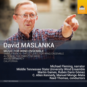 Album artwork for David Maslanka: Music for Wind Ensemble