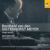 Album artwork for Sigtenhorst Meyer: Piano Music
