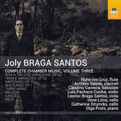 Album artwork for Joly Braga Santos: Complete Chamber Music, Vol. 3