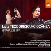 Album artwork for Teodorescu-Ciocanea: Le rouge et le noir: Ballet i