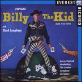 Album artwork for Copland Billy the Kid (suite from Ballet) and Thir