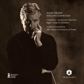 Album artwork for Elgar: The New England Connection