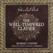 Album artwork for J.S. Bach: The Well-Tempered Clavier / Costin