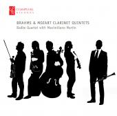 Album artwork for Brahms & Mozart Clarinet Quintets